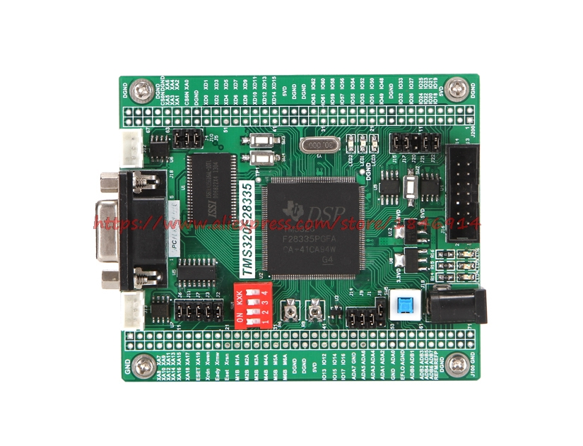Free Shipping DSP Development Board DSP28335 TMS320F28335PGFA 28335 Model Design Platform Development Board