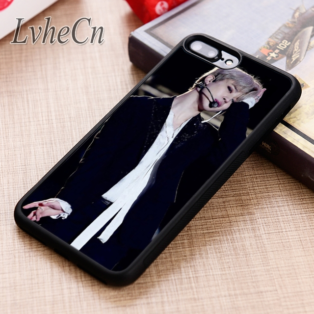 Phone Bags & Cases Painstaking Lvhecn Jimin Bts Boy Phone Case Cover For Iphone 6 6s 7 8 X Xr Xs Max 5 5s Se Samsung Galaxy S5 S6 S7 Edge S8 S9 Plus Clear And Distinctive