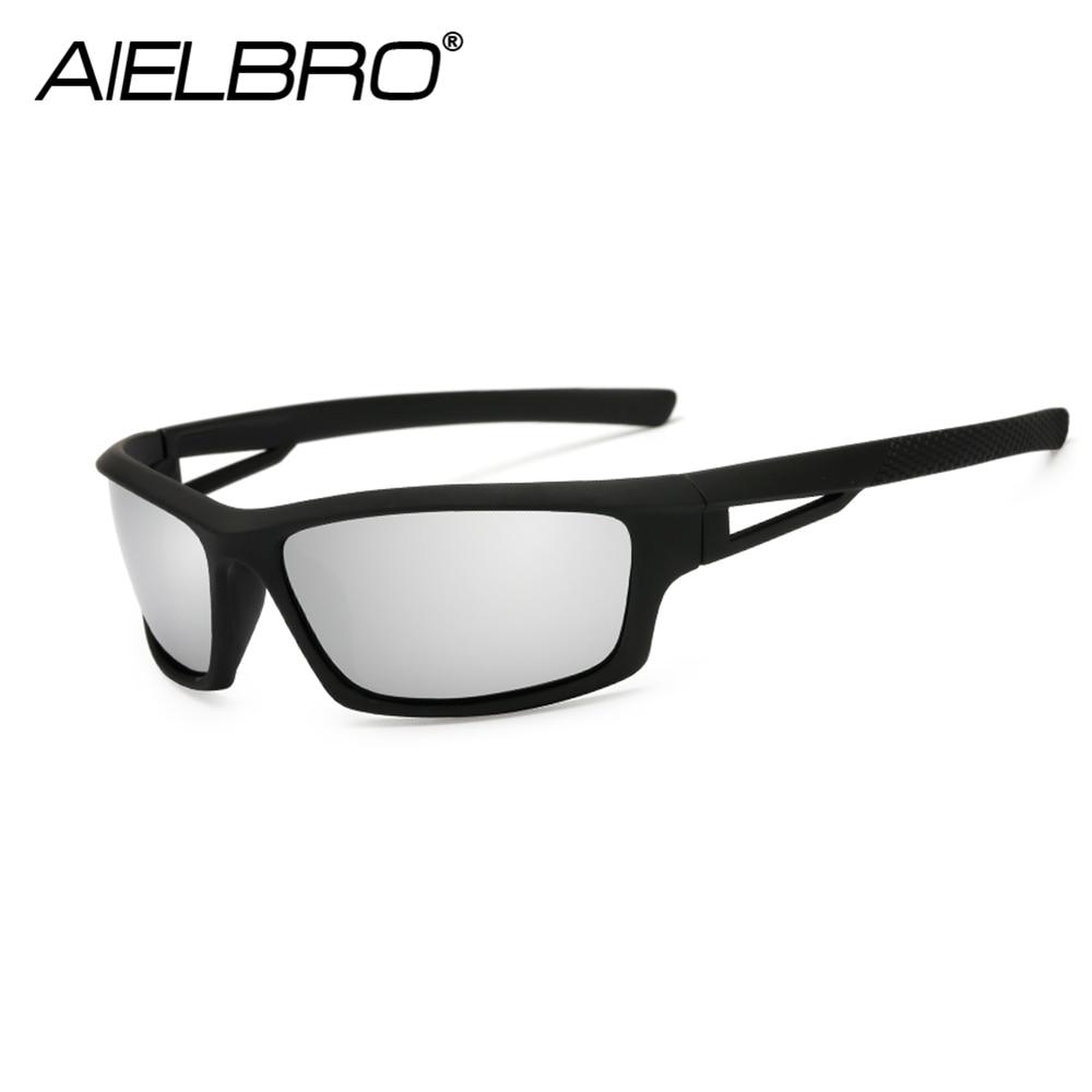 AIELBRO Men Women Lightweight Polarized Cycling Sunglasses Sport Glasses Fishing Climbing Hiking Running Skiing Eyewear