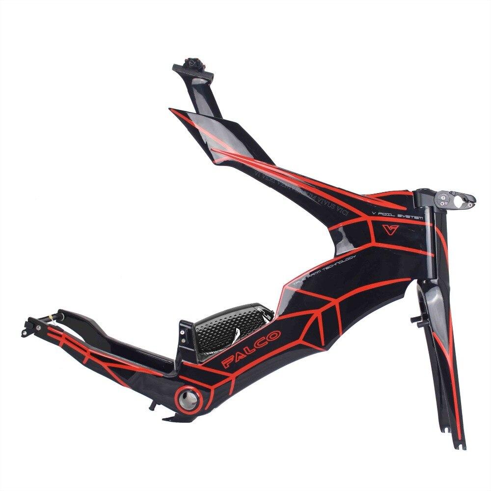 Frameset Time-Trial Carbon-Tt-Frame FALCO Quadro-De-Bicicleta 54/57cm