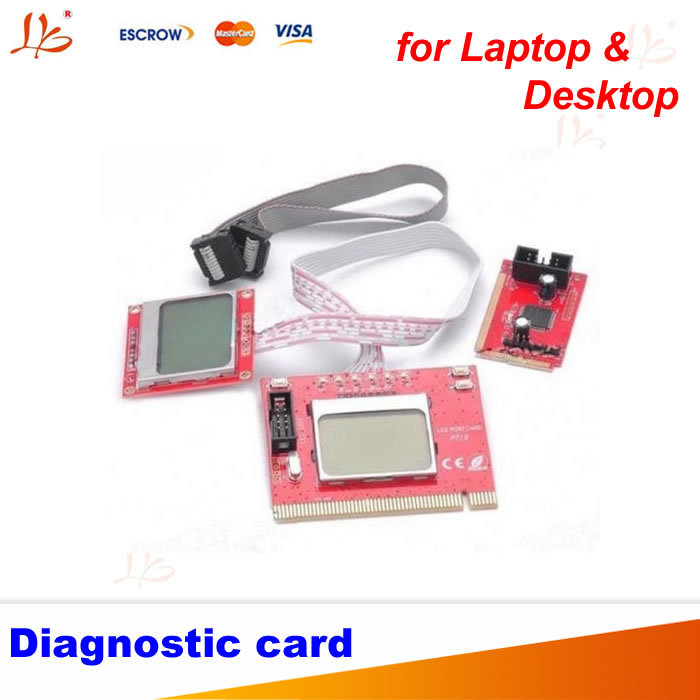 все цены на PTI8 Motherboard Diagnostic Analyzer Debug Card with LCD display for Laptop & Desktop онлайн