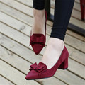 Free shipping Female shoes couture autumn autumn 2017 new high heel shoes lazy single shoes slip-on sexy joker big size