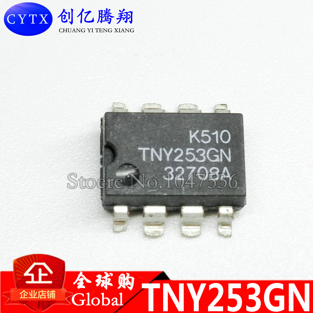 TNY253GN TNY253G SOP-8 TNY253 SOP SMD 10pcs/lot Brand new authentic spot, can be purchased directly