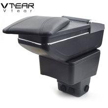 Vtear для Mazda CX-3 CX 3 CX3 подлокотник коробка центральный магазин коробка содержание обладатель Кубка пепельница подкладке автомобиль-Стайлинг аксессуары 14-19