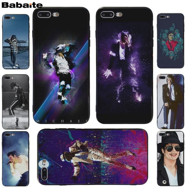 best cheap fefe7 034d7 US $1.01 49% OFF|Babaite Michael Jackson popular phone case For iphone 8  8plus X 7 7plus 6s 6s plus 6plus XS XR XS Max-in Half-wrapped Case from ...