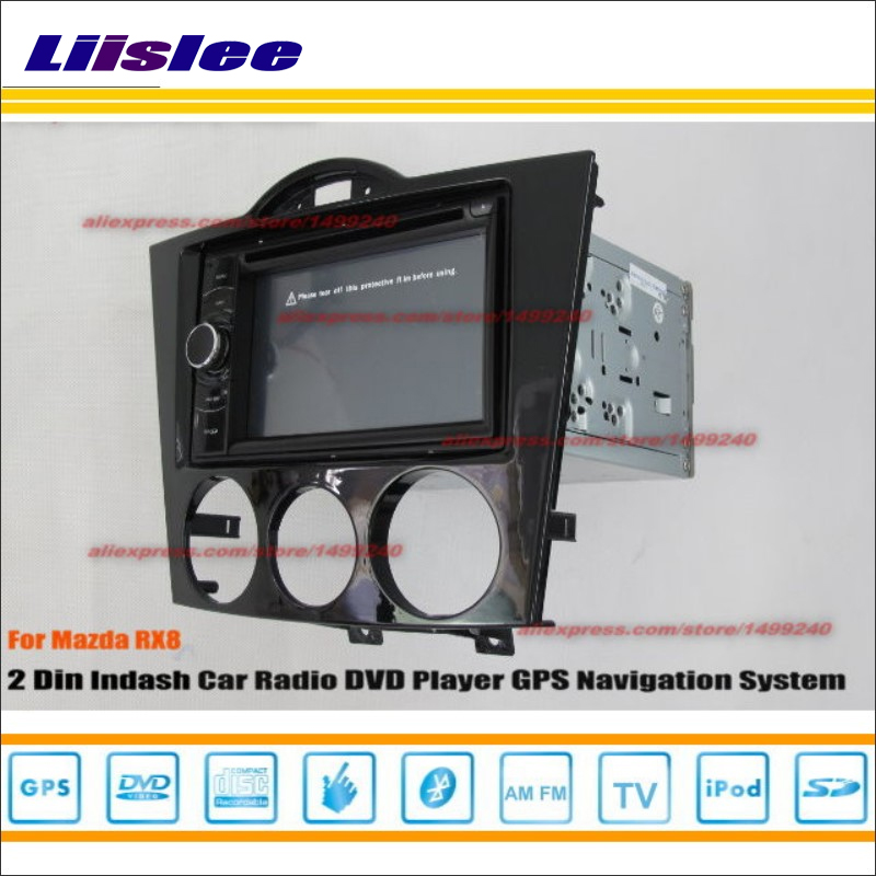 Liislee For Mazda RX8 RX 8 2009~2012 Car Radio Stereo CD DVD Player GPS NAV NAVI HD Touch Audio Video S100 Nav Navigation System yessun for mazda cx 5 2017 2018 android car navigation gps hd touch screen audio video radio stereo multimedia player no cd dvd