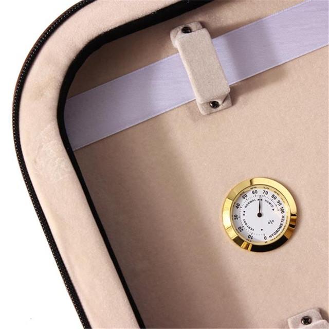 Waterproof Violin Case with Hydrometer