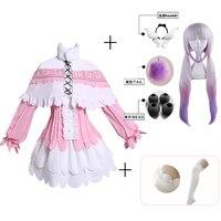 Japanese Anime Miss Kobayashi's Dragon Maid Kamui Kanna Cosplay Costumes Halloween Party Kawai Dress For Women
