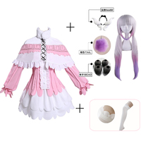 Japanese Anime Miss Kobayashi's Dragon Maid Kamui Kanna Cosplay Costumes Halloween Party Kawai Dress For Women
