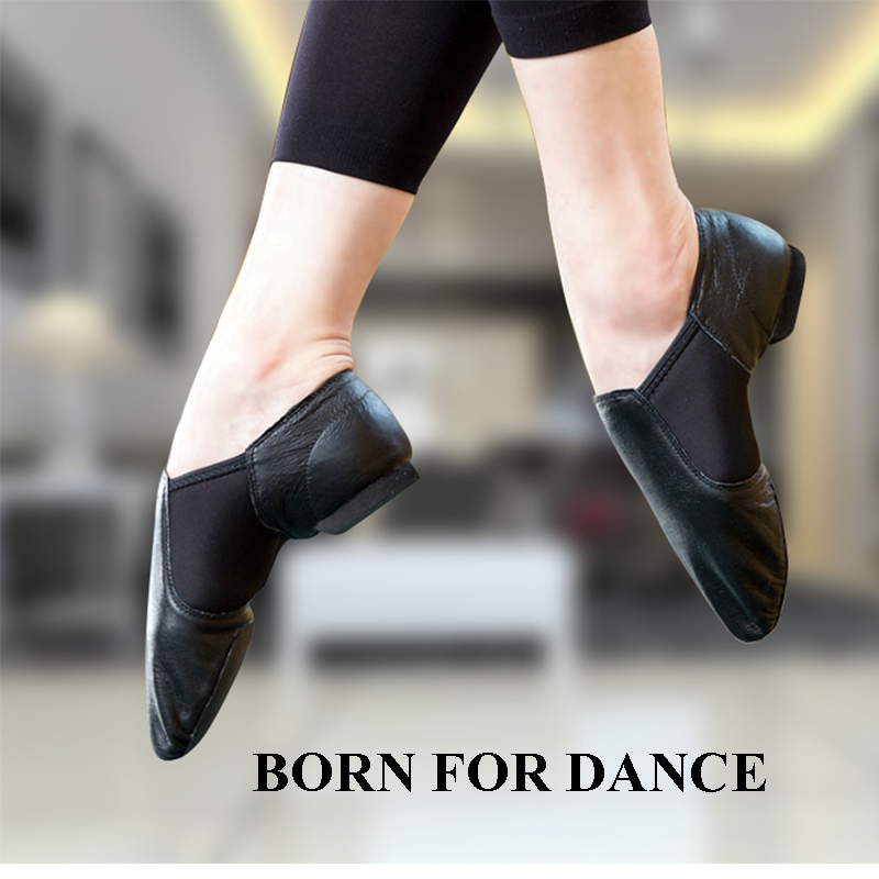 Ballet Latine Pour Danse Chaussures En De Baskets Cuir Homme Filles Enfants Jazz Véritable Noir Femmes Fx1vZnqXw1