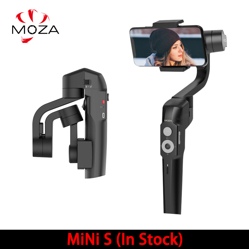 Nouveau stabilisateur de cardan MOZA MINI S 3 axes pour iPhone X 8 Plus Samsung S9 S8 S7 VS Zhiyun lisse Q 4 Vimble