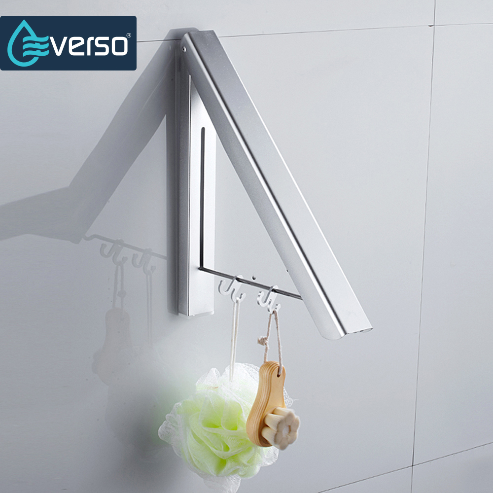 popular modern coat hangersbuy cheap modern coat hangers lots  - everso space aluminum  hooks foldable robe hook wall mounted coat hangernail towel rack bathroom