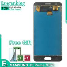 J5 Lcd For Samsung Galaxy J5 Prime G570F G570 SM-G570F New AMOLED LCD Display With Touch Screen Digitizer Assembly5.0''