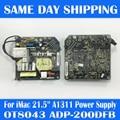 """Original OT8043 ADP-200DF B for iMac 21.5"""" A1311 PSU Power Supply Board 205W 614-0445 661-5299 614-0444 2009 2010 2011 Year"""