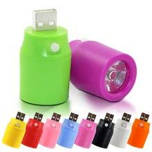 TD + Горячая Продаже + безопасности карманный мини факел usb светодиодный фонарик power bank концентратор открытый туризм #