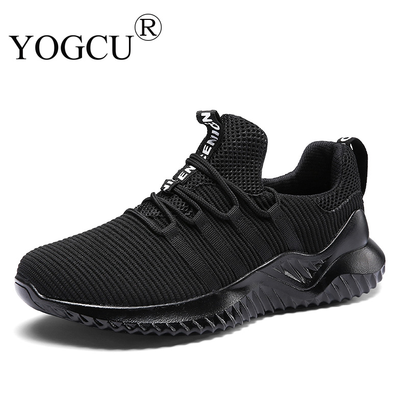 Mens Sports Shoes Non-slip Athletic Sneakers Youth Breathable Mesh Flying Weave Superstar Running Shoes
