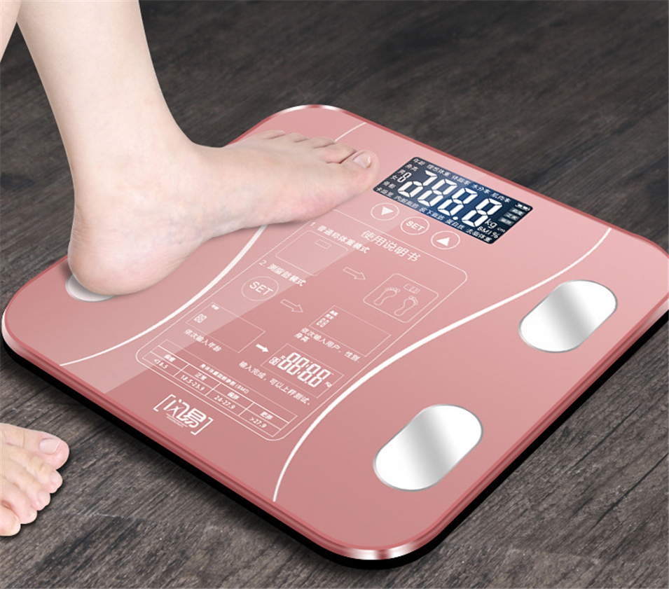 Body Fat Digital Bathroom Weight Scales Electronic Scales Intelligent Household Scale lose weight Scales No need to use APP