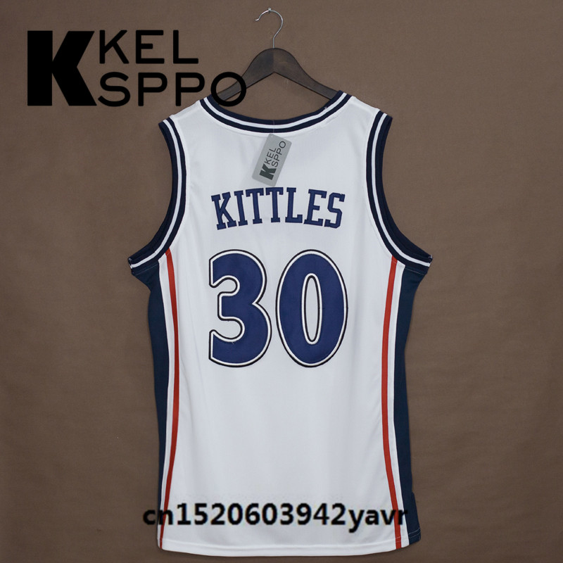 Custom adult throwback basketball jerseys kerry kittles jpg 800x800 Kerry  kittles jersey e00eb4468