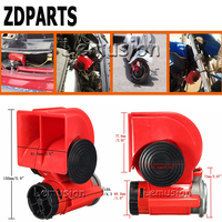 ZDPARTS For Hyundai Solaris Suzuki Grand Vitara Swift Alfa Romeo Acura Renault Car Automobiles 12V130db Two Tone Snail Air Horn