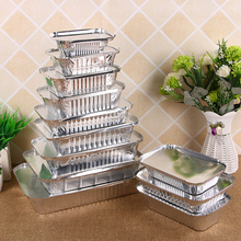 Pan Food-Containers Aluminum-Foil Disposable Rectangle-Shaped Lids/without-Lid Take-Out