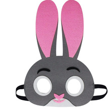 Mask Rabbit DC Super Hero Batman Kids Boy Girl Costume Star Wars Xmas Avengers DIY Masquerade Eye Cosplay