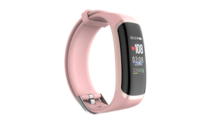 Image 4 - M4 Smart Bracelet Fitness Tracker Color Screen Sport Blood Pressure real time Heart Rate Monitor IP67 Waterproof  Smartt Watch