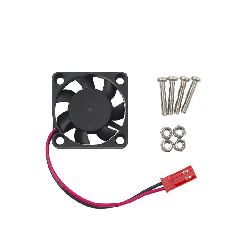 Raspberry Pi 3 Model B CPU Cooling Fan Brushless Cooler Radiator Fan for Raspberry Pi 2 Model B for Orange Pi for NesPi Case radiator cooling fan relay control module for audi a6 c6 s6 4f0959501g 4f0959501c