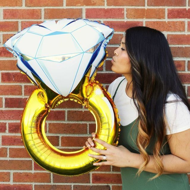 Engagement Ring Balloon