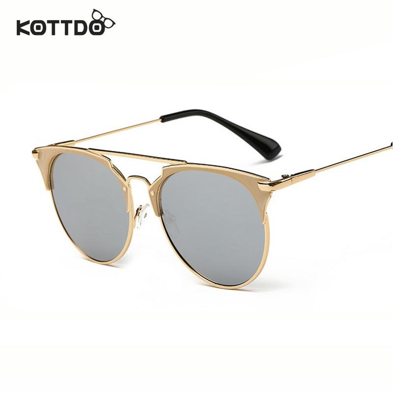 Runde Sonnenbrille mit halbem Rahmen Frauen Retro Vintage - Bekleidungszubehör - Foto 6
