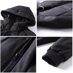 Image 4 - Pioneer Campo impermeabile di spessore inverno degli uomini giù giacca di marca di abbigliamento con cappuccio anatra calda verso il basso cappotto maschile puffer giacca AYR705314