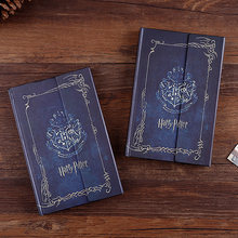 2019 Harry Potter Notebook Planner Magic Book Diary with 2020-2021 Calendar Cover Supplies Notebooks Student Gift Free Shopping(China)