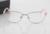 Moda das Mulheres Armações de óculos Sem Aro Completo Armações de Óculos Óptica Óculos de Acetato Feita À Mão Perna 5038 2 Cor de Rosa de Ouro