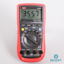 Uni-t UT61D современные жк-цифровой мультиметры AC DC вольт ампер ом авто тестер диапазон метр