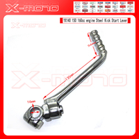 Steel Kick Start Lever 16mm Mounting Hole Fit To YX GPX KAYO 140 150 160cc