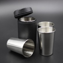 Portable Size Durable Stainless Steel Cover Mug Camping Cups Drinking Coffee Tea Beer for Outdoor Travel