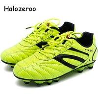 Nuevas zapatillas deportivas de otoño para niños, zapatillas de deporte de malla para niñas, zapatillas de fútbol para niños, zapatillas de fútbol negras para niños