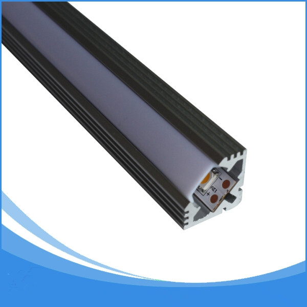 10PCS-1m length Aluminum LED Profile-Item No.LA-LP15 led Angle profile led Profile for 11mm width led strip-Free Shipping