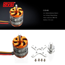 DYS D3548 3548 790KV 900KV 1100KV Brushless Motor 3-5S For Mini Multicopters RC Plane Helicopter