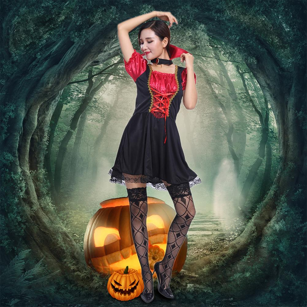 Multi Color Classical Medieval Central European Style Female Cosplay Costumes Halloween Carnival Women Cosplay Retro Style Dress