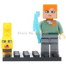XINH 358 Cute Cartoon DIY Figure Building Blocks Single Sale Sets Models Educational Bricks Toys For Children Christmas Gifts(China (Mainland))
