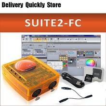2019 newest version Sunlite Suite 2 FC DMX-USD Controller Professional DMX controller software DJ KTV Party 1536 Chaneels недорго, оригинальная цена