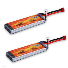 2X 25C 7.4V 3300mAh Lipo Battery for RC Helicopter Hobby Truck Airplane Boat Car