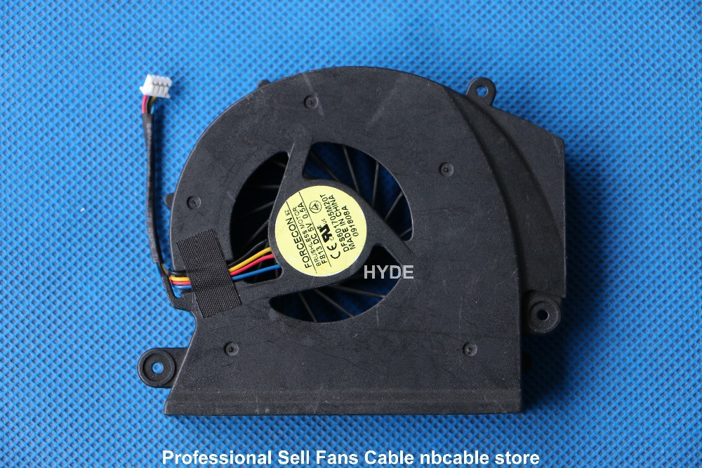 FORCECON DFS601705M20T F813 DC5V 0.5A LAPTOP CPU FAN FOR ACER ASPIRE 8930G CPU COOLING FAN new for acer aspire s3 s3 391 s3 951 laptop cpu cooling fan