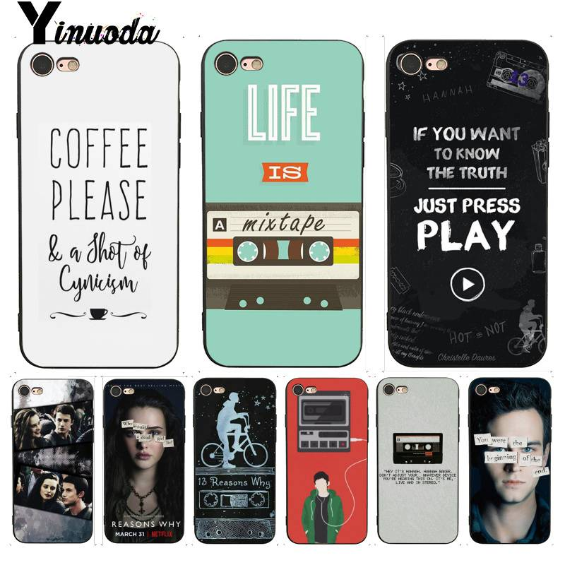 Yinuoda For iPhone 7 6 X <font><b>Case</b></font> <font><b>13</b></font> <font><b>reasons</b></font> <font><b>why</b></font> Best Coque Shell <font><b>Phone</b></font> <font><b>Case</b></font> for iPhone X 8 7 6 6S Plus X 5 5S SE XR XS XSMAX image