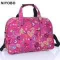 new arrival print travel bags men/women travel duffle bag waterproof oxford travel totes bags PT974
