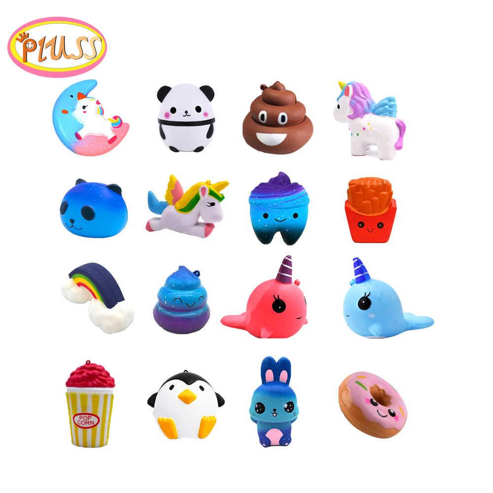 Squishy mignon jouets anti-stress crème parfumée Antistress squishy licorne squishies lente hausse mignon Collection cadeau