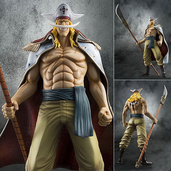 EMS Shipping Cool Big 13 One Piece POP P.O.P EX Whitebeard - Edward Newgate Young Ver. PVC Action Figure Collection Model Toy anime one piece dracula mihawk model garage kit pvc action figure classic collection toy doll