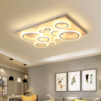NEO Gleam Rectangle Square Modern Led Ceiling Lights For Living Room Bedroom Study Room Plafonnier Led