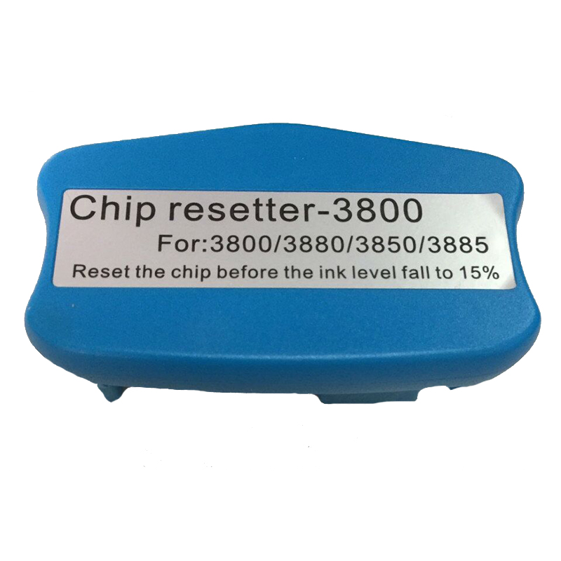 Chip resetter for Epson Stylus pro 3800 3800c 3850 3880 3890 3885 maintenace tank chip resetter waste ink tank resetter