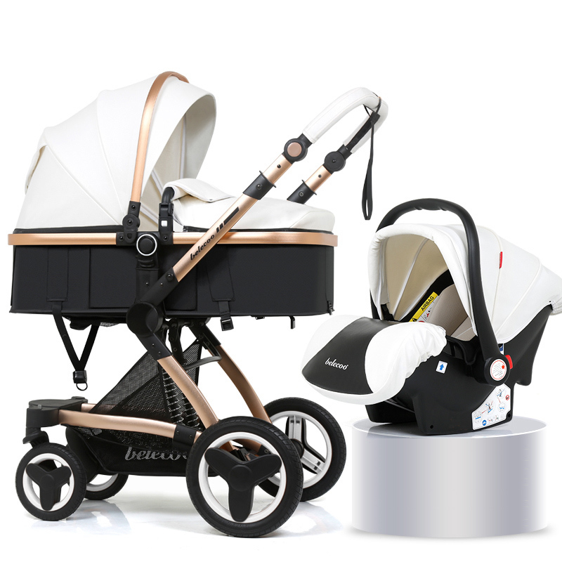 PU luxury car seat stroller baby stroller 3 in 1 baby pram 2 in 1 baby Safe chair Foldable stroller for dolls baby accessories constant delight стойкая крем краска для волос delight trionfo 73 оттенка 60 мл 9 4 блондин бежевый 60 мл